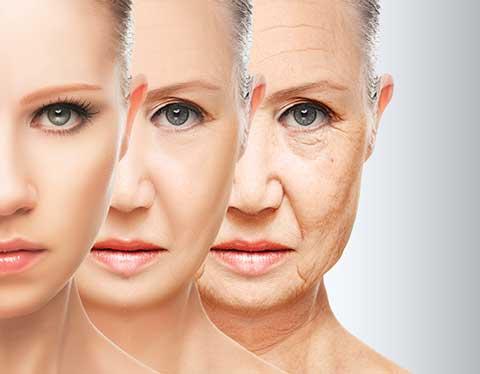 Blepharoplasty ageing eyes