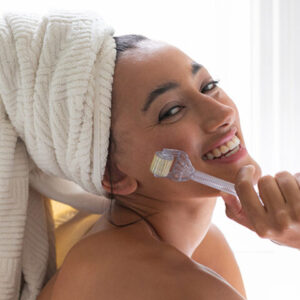 Synerige home roller for microneedling at Aesthetica