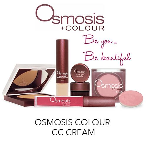 Osmosis CC cream at Aesthetica Image Centre