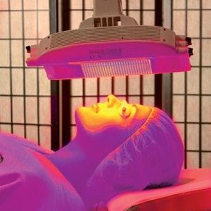 Omnilux Revive LED light therapy at Aesthetica
